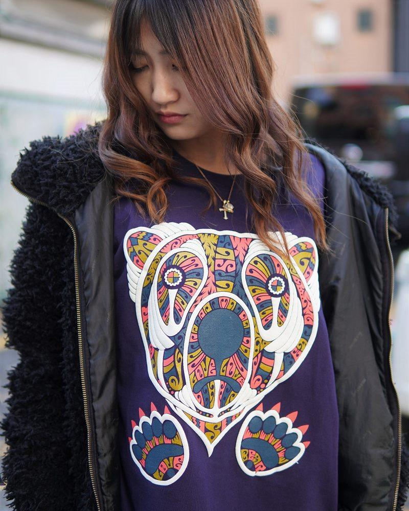 【OTACCIMAN】《2色》クマTシャツの画像3